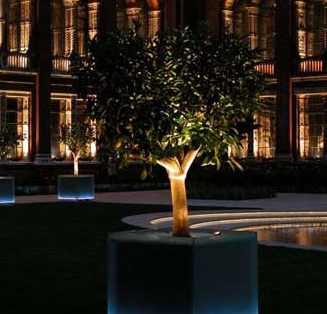 Victoria & Albert Musuem London, England Euro Spot, Floor Lite, LED Options