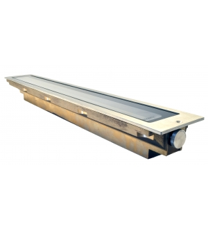 Cast Solid Bronze Adjustable Linear Lite