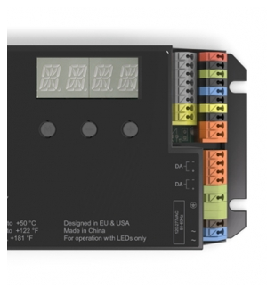 POWERdrive AC 100W DMX/RDM/DALI Full-Colour (RGBW) Dimmable LED Driver